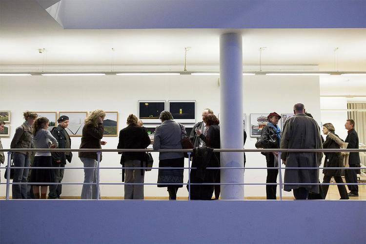 Sehen, was gefördert wird: Ausstellung der Neuaufnahmen im Wissenschaftspark Gelsenkirchen.  © Stefan Bayer