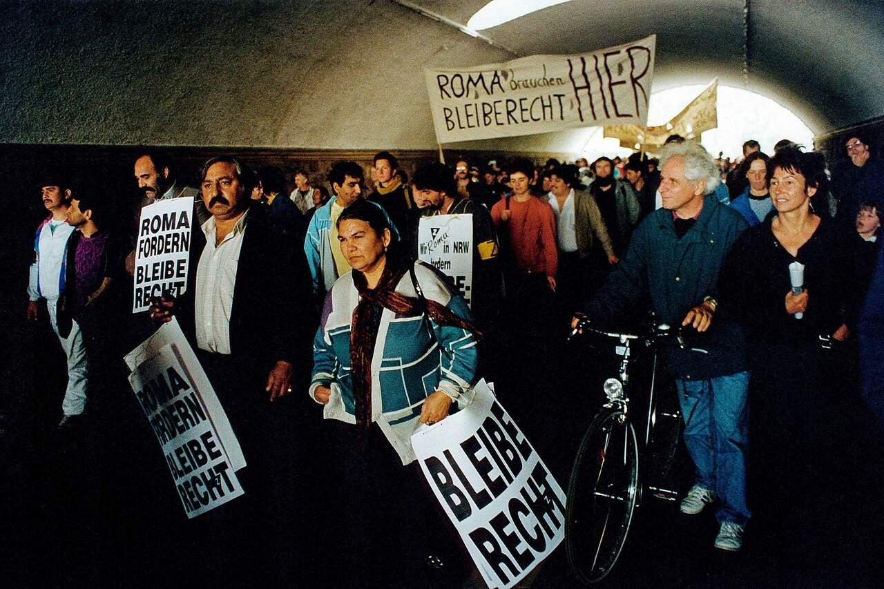 Demonstration für Bleiberecht