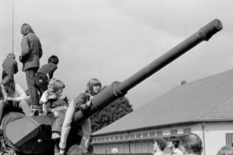 Bundeswehr-Präsentation in der Gutav-Heinemann-Kaserne in Essen-Kray