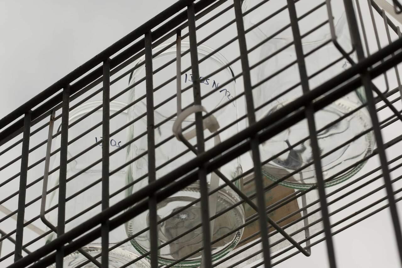 LANUV - Messstation, Detailaufnahme