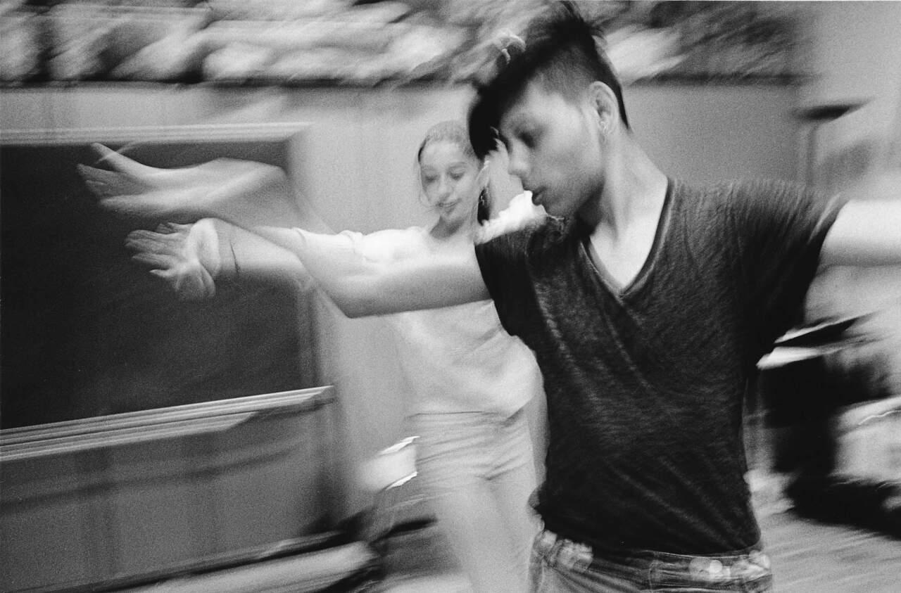 Lalok Libre Tanzen mit Flüchtlingen
