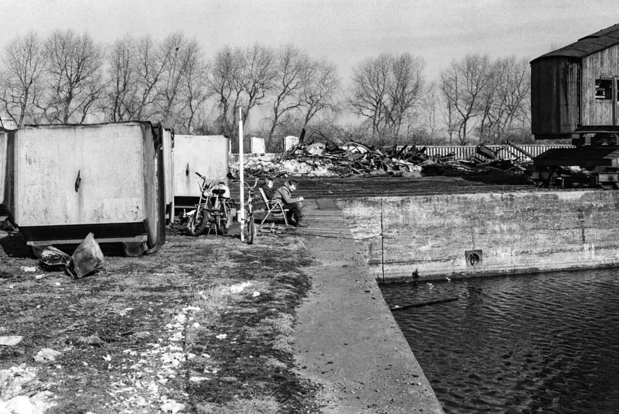 Kraftwerk Graf Bismarck: Hafenbecken