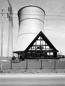 Industrielandschaft Ruhrgebiet der 1980er Jahre