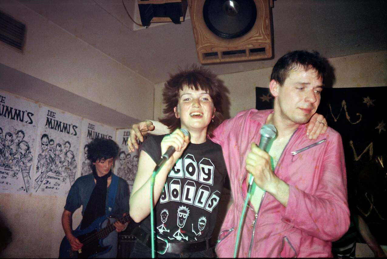 Gunda und Fabsi von den Mimmis beim Konzert im OkieDokie