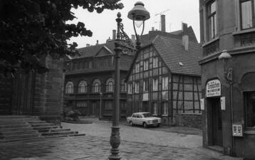 Fachwerkhaus am alten Kirchplatz St. Lambertus