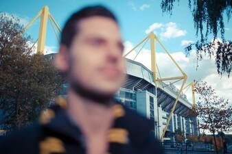 Alex am BVB-Stadion