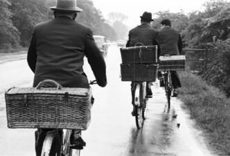 Taubenzüchter unterwegs zum Einsatz, Ortsteil Habinghorst