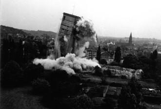 """Bunkersprengung """"Am Altstadtring"""""""