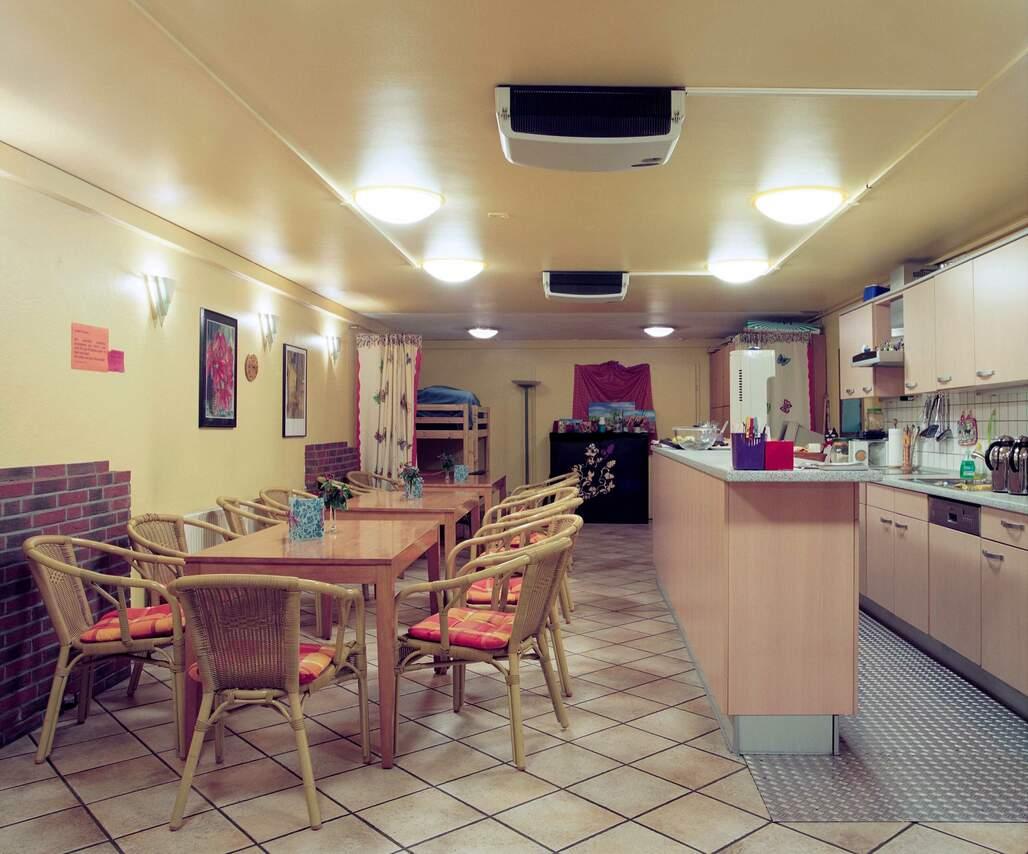 Cafe für Frauen, die der Prostitution nachgehen