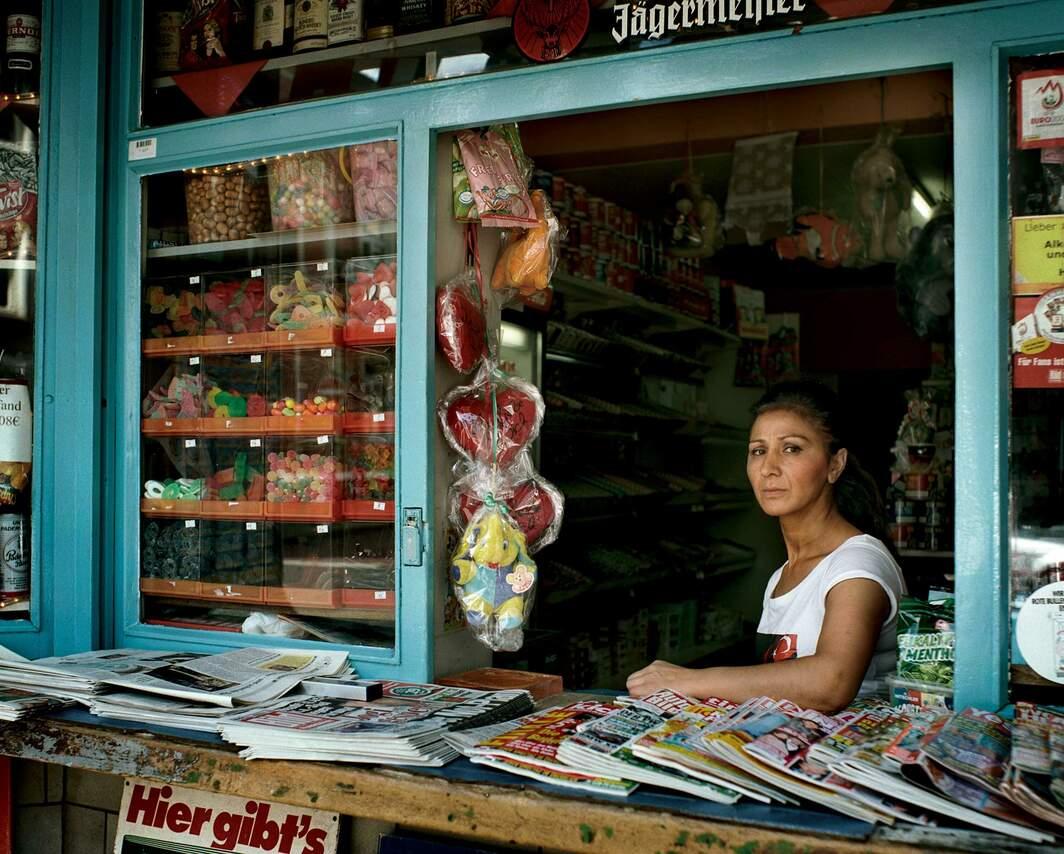 Kioskverkäuferin