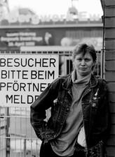 """Silvia Georgi,  Industriekauffrau Zeche Ewald: """"Ich bin nicht nur`ne Zechenmaus, ich bin auch eine Gewerkschaftsmaus."""""""