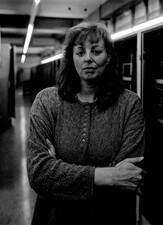 """Iris Helfen, Energieanlagenelektronikerin, Thyssen-Krupp Stahl, Duisburg Hamborn: """"Ich bringe auch zu Ende, was ich angefangen habe."""""""