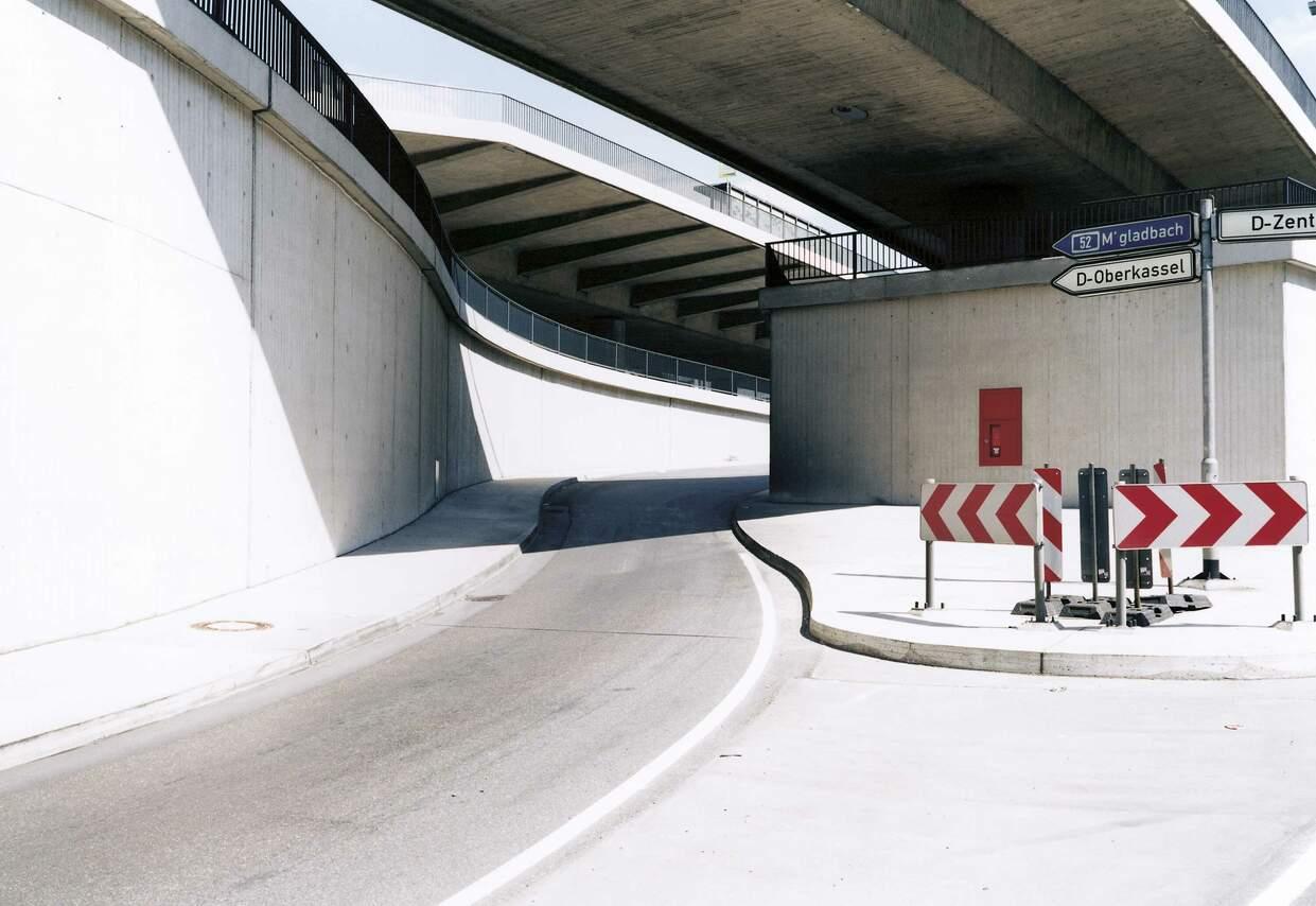 Untertunnelung der B1, Düsseldorf