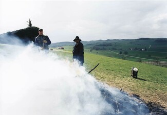 Osterfeuer im Teutoburger Wald, Grießem