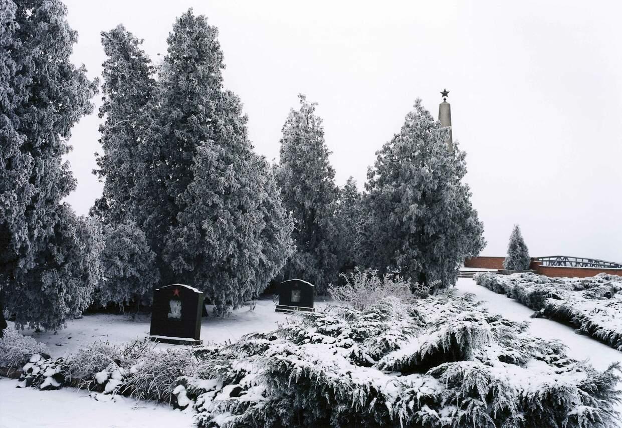 Russische Gedenkstätte in der ehemaligen preußischen Festung Küstrin, Kostrzyn, Polen