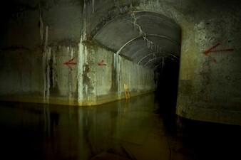 unterirdische Produktionsanlage