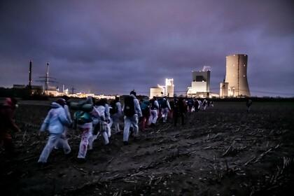 Ende Gelände – Besetzung des Kohlekraftwerks Datteln 4