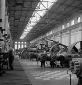 Nachkriegsjahre in Essen, Bochum und Oberhausen – Industrie, 1950er Jahre