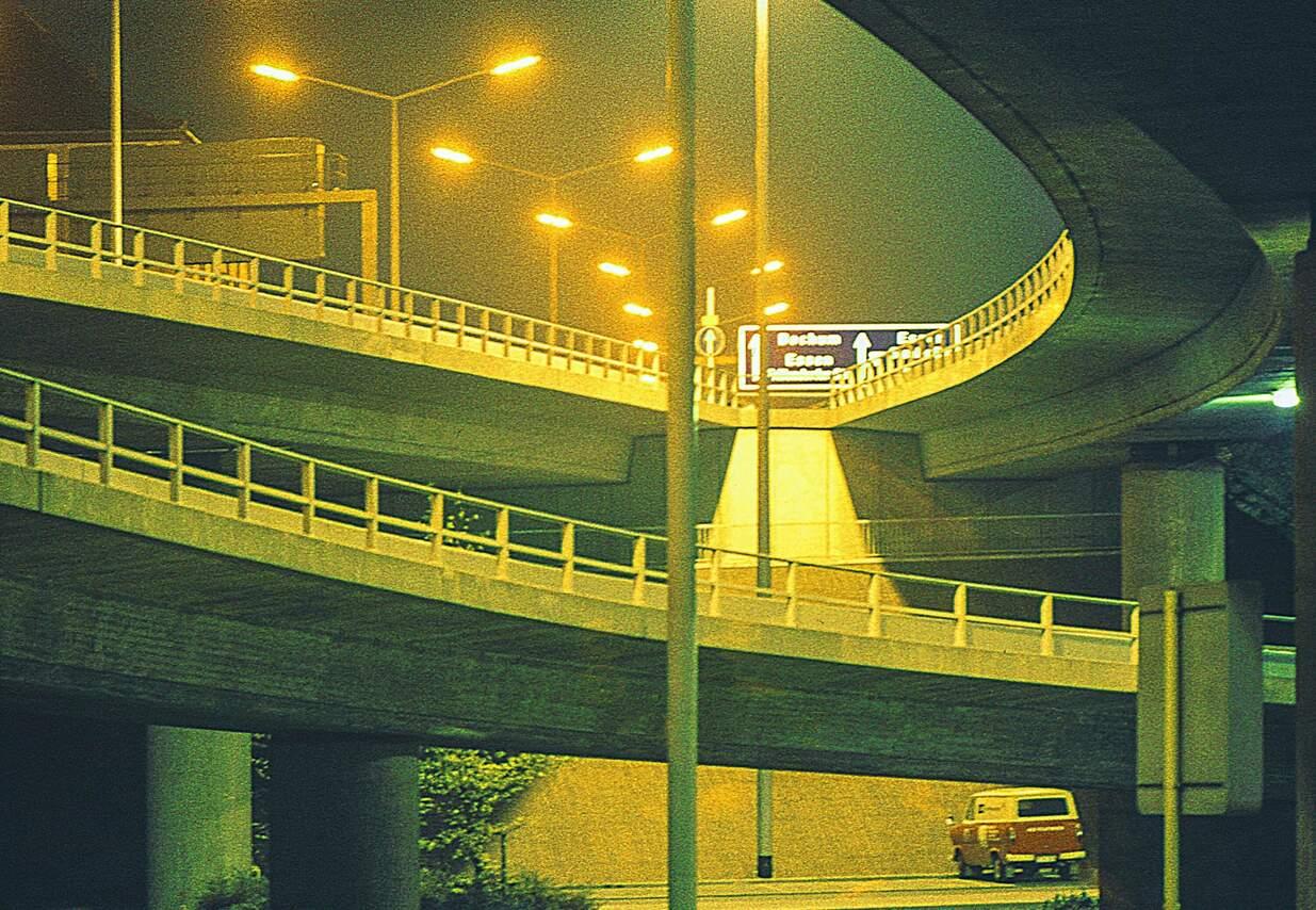 A40 Abfahrt zur Helbingstr.