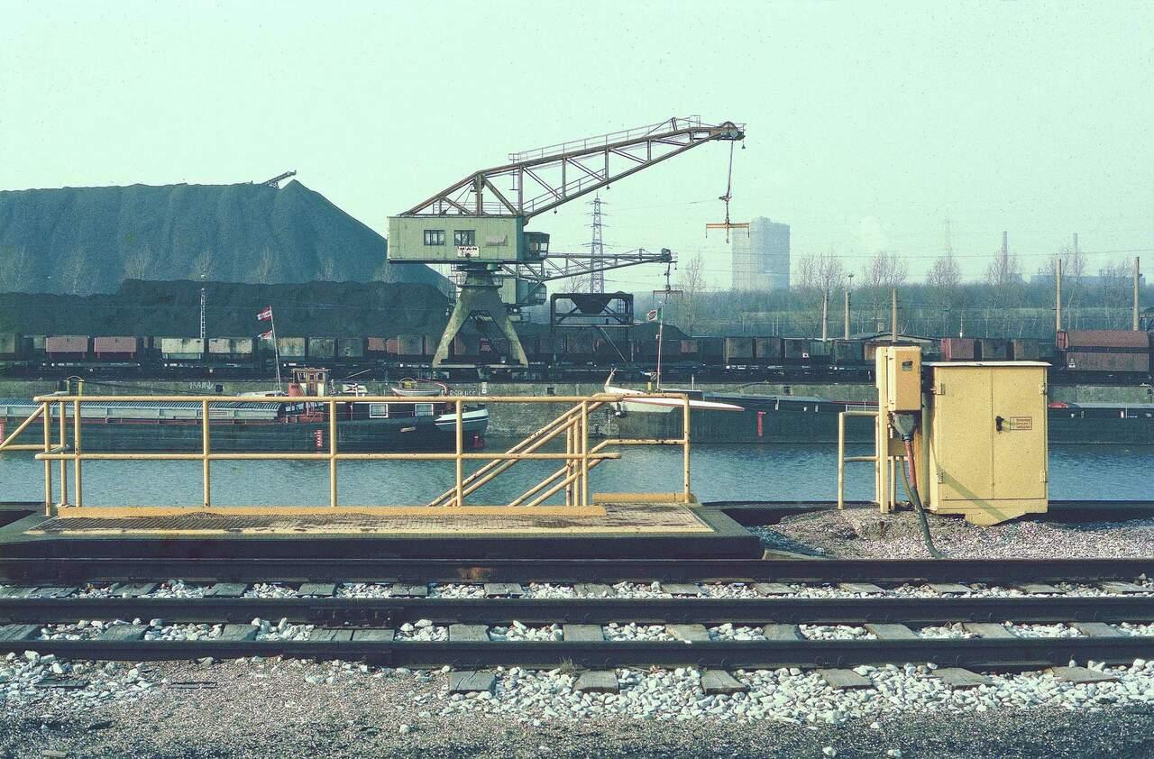 Hafenanlage, Blick nach Norden